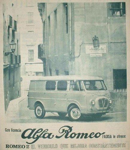 from the Alfa Romeo models